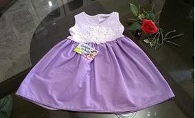 Vestidos Infantil Kit 05 - 1 A 2 Ano - Barato! Frete Grátis