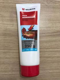 Pasta Creme Para Limpeza De Mãos Desengraxante Wurth 250gr