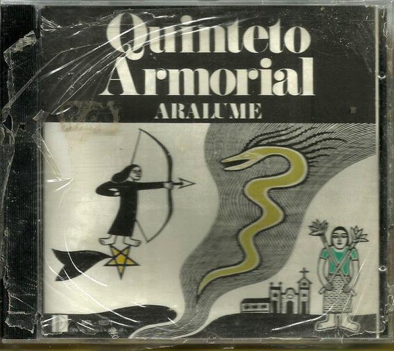 Cd Quinteto Armorial Aralume (discos Marcus Pereira) 1ª Ed