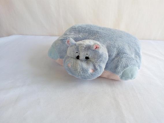 Pelucia Dos Sonhos Bauducco O Hipopótamo Travesseiro
