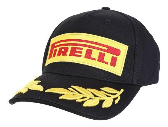 Boné Pirelli Pzero F1 Aba Curva Podium Original