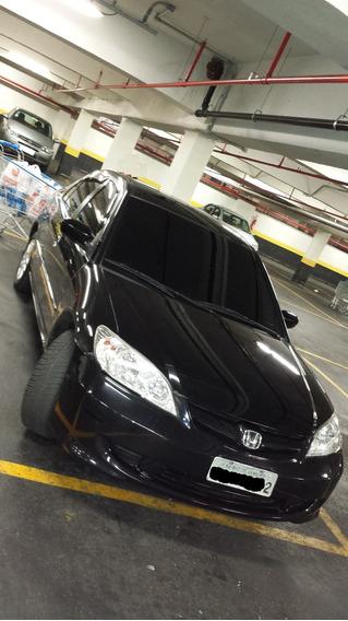 Honda Civic Sedan Lx 1.7 16v 115cv Mec. 4p (gnv) 2006:2006