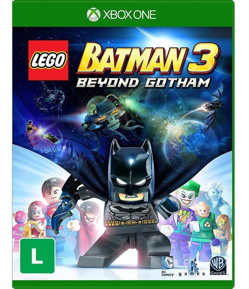 Lego Batman 3 Beyond Gotham - Xbox One - Novo - Mídia Física