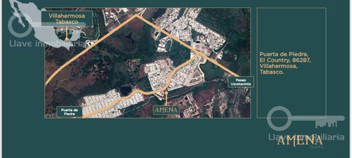 Imagen 1 de 6 de Terreno En Venta Fraccionamiento Amena Zona Country