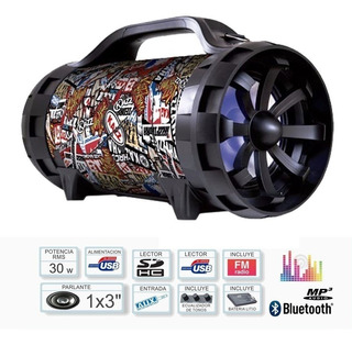 Parlante Portatil Karaoke Stromberg Kazz Ds30 Usb Bluetooth