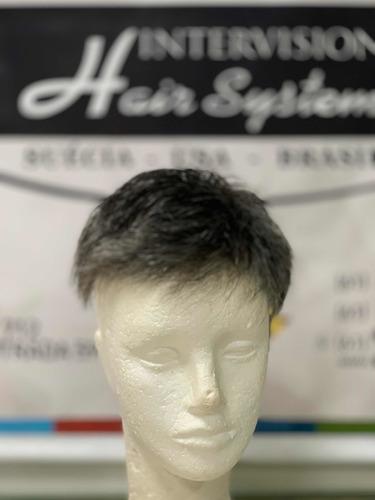 Prótese Capilar Micropele -1b40-intervision Hair - A Melhor!