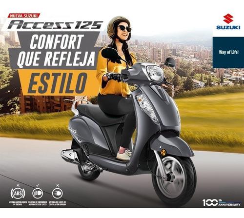 Suzuki Access 125 Fi Modelo 2021   + Casco