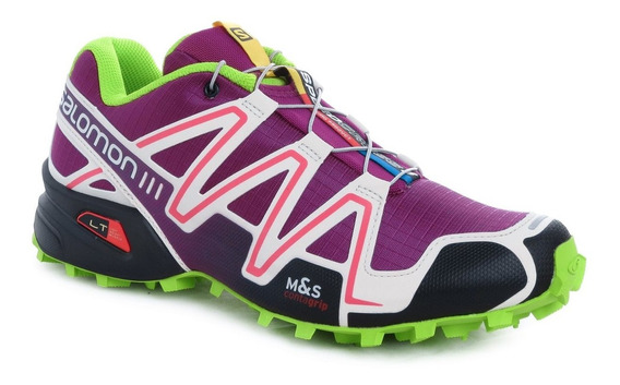 Zapatillas Salomon Speedcross 3 Running Mujer Gym Originales