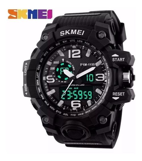 Relógio Masculino Skmei 1155 Black, Prova D