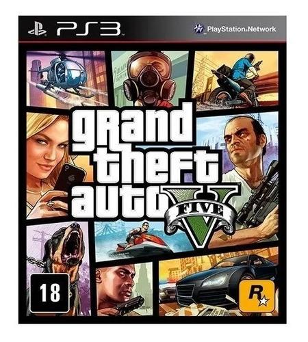 Grand Theft Auto 5 - Gta V - Para Ps3 - Digital - Promoción