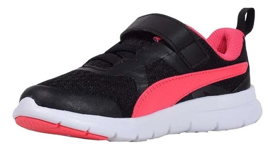 Puma Zapatillas Nena Flex Essential V Ps Negro / Rosa