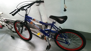 Bicicleta Liberty Cross Bmx Dark Azul Rodado 16