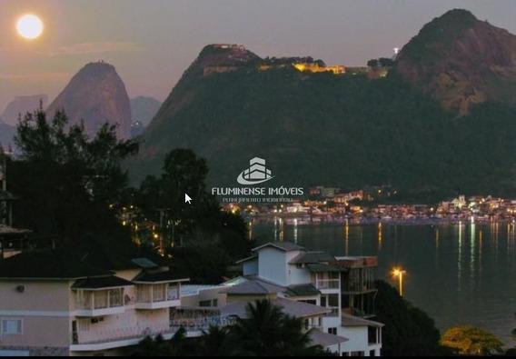 Casa De Condomínio Com 5 Dormitórios À Venda - Charitas, Niterói/rj - Cav21972
