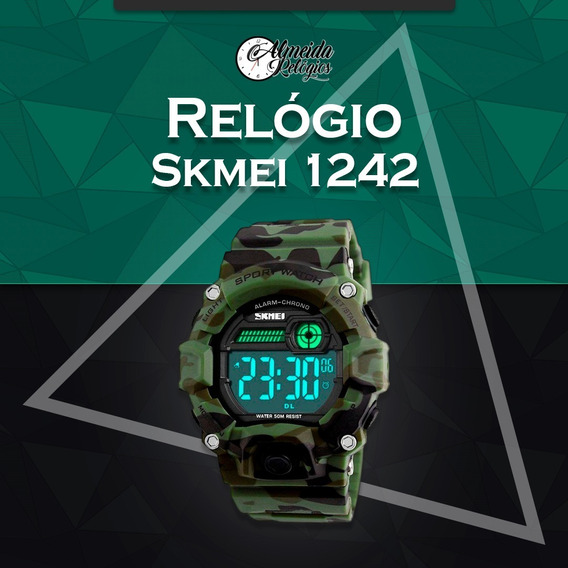 Relogio Digital Skmei 1242 Original