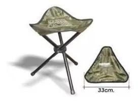 Banqueta Cadeira Para Pesca Camping Dobrável - Marine Sports