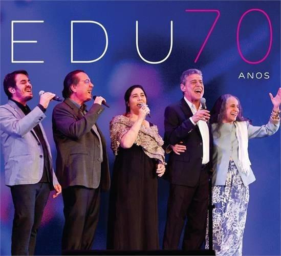 Edu Lobo - 70 Anos - Cd - Maria Bethânia - Chico Buarque
