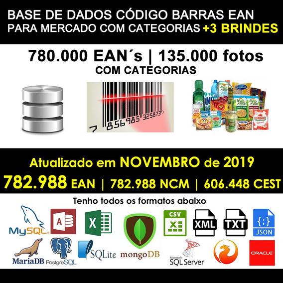 Banco De Dados Supermercado Categoria 780 Mil Itens Com Foto