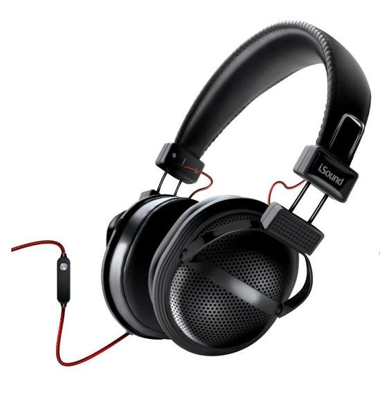Fone De Ouvido C/ Microfone Isound Hm-270 - Preto