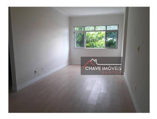 Imagem 1 de 21 de Apartamento Com 2 Dormitórios À Venda, 84 M² Por R$ 354.000,00 - Marapé - Santos/sp - Ap2917