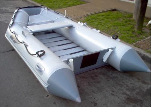 Bote Gomón Pescador Enrollable Alovecs Azq-340