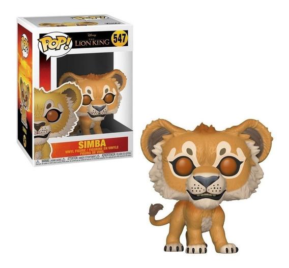 Funko Pop Simba 547 Rey Leon Lion King Disney Original Edu