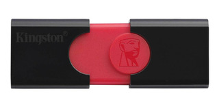Memoria USB Kingston DataTraveler 106 16GB negro/rojo