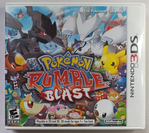 Pokémon Rumble Blast 3ds (completo)