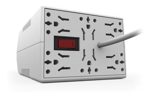 Estabilizador Tension Surelectric 1000va 6 Multitomas