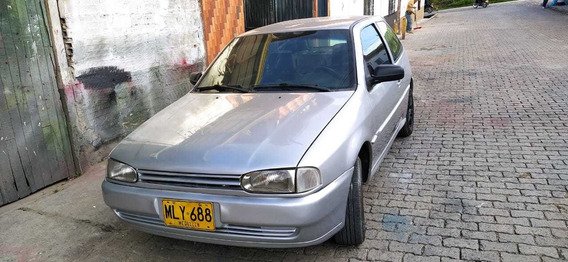 Volkswagen Gol Cupe Motor 1.6 Color Gris Full Equipo
