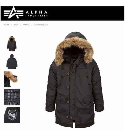 Campera Alpha Industries Parka Altitud Original