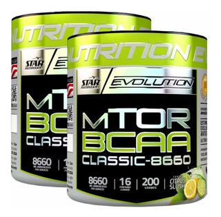 Aminoacidos Bcaa Mtor Classic 200 Gr X 2 Un. Star Nutrition