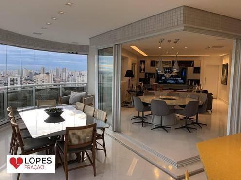 Apartamento Alto Padrão Decorado Acima Do 30º Andar No Jardim Anália Franco - Ap1699