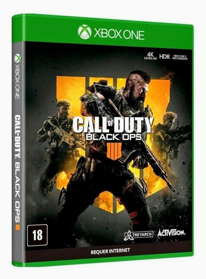 Call Of Duty Black Ops 4 Xbox One Mídia Física Lacrado