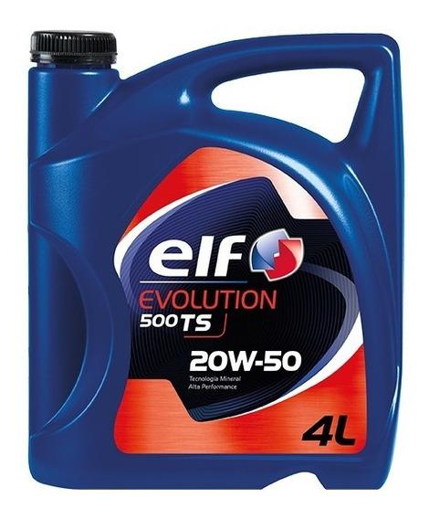 Aceite De Motor Elf Evolution 500 Ts 20w-50 4l