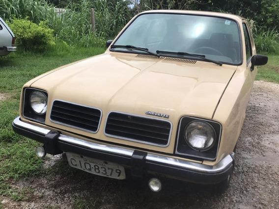 Chevette Hatch - 1980 - Gasolina - Bom De Pneus R$6.000,00