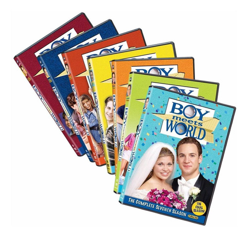 Boy Meets World Serie Completa Temporadas 1 2 3 4 5 6 7 Dvd