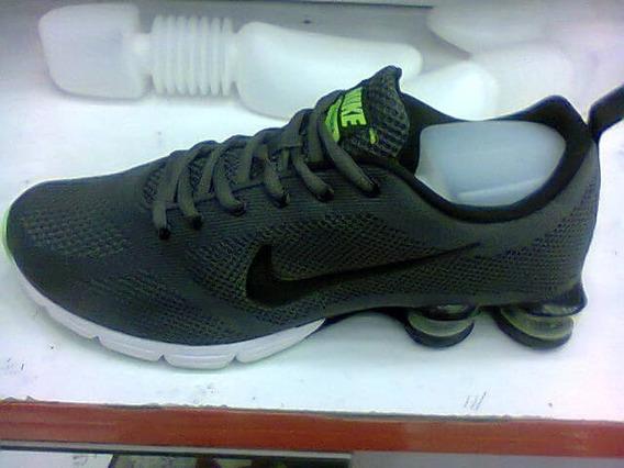 Tenis Nike Shox Zoom Cinza E Preto Nº38 Ao 43 Original!!