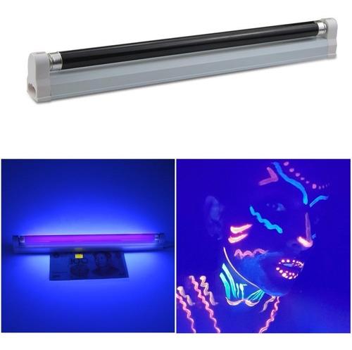 Lampara Luz Negra Uv 6w Ultravioleta Chequeadora De Billetes