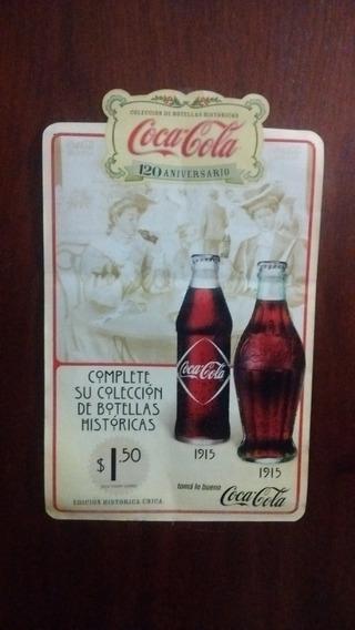 2 Afiches Publicitarios Coca-cola - Para Coleccionistas -