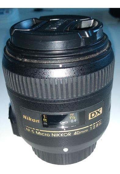 Lente Nikon Af-s Dx Micro Nikkor 40mmf/2.8 G