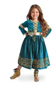 Vestido Valiente Merida Disney Store