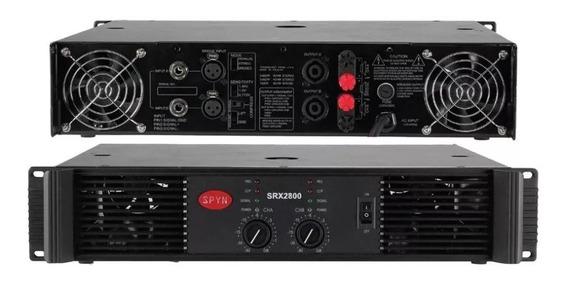 Amplificador Power Spyn Modelo Srx2800