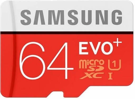 Samsung Micro Sdxc Evo Plus 64gb C10 80mb/s Sony Xperia Z4