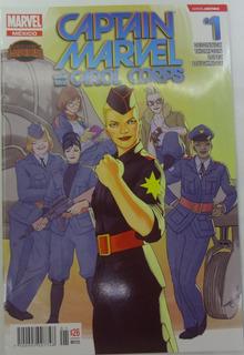 Marvel Comic Captain Marvel 1 #1 Español Televisa