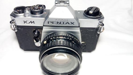 Pentax Km Com Pentax-m 50mm F/ 1.7