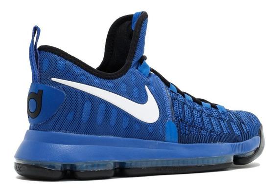 Tenis Nike Zoom Kd 9 Azul Kevin Durant # Talla 27 Mx Envio Gratis