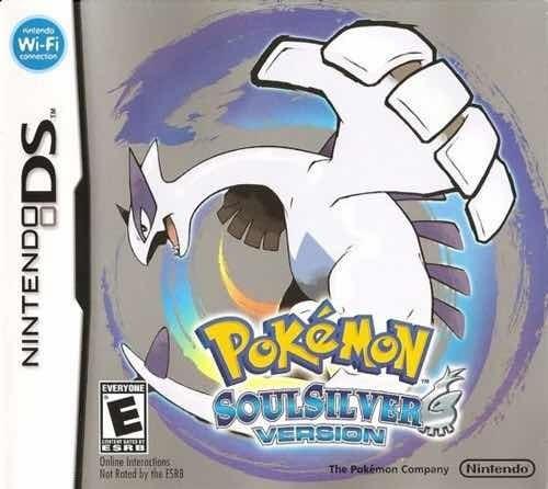 Pokemon Soul Silver Para 3ds - Cartucho Original Na Caixa.