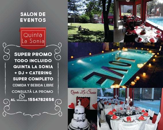 Alquiler Quinta Para Eventos Y Fiestas/hurlingham/z. Oeste