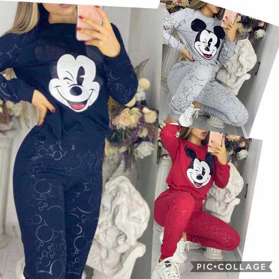 Conjunto Pants Mickey Colores , Dama