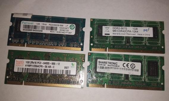 Memoria Ddr2 De 1gb Para Laptop